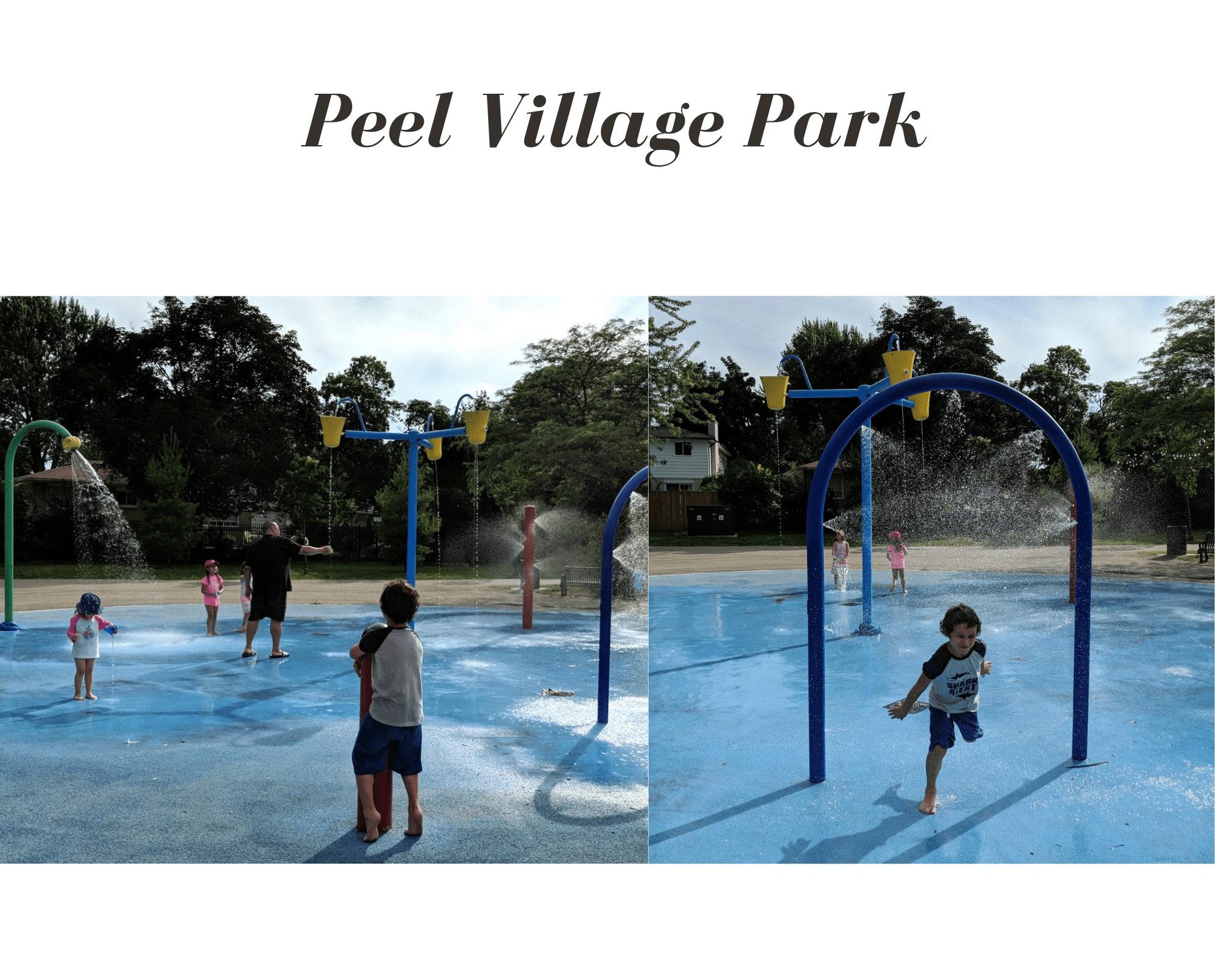 Peel Village Park Splash Pad