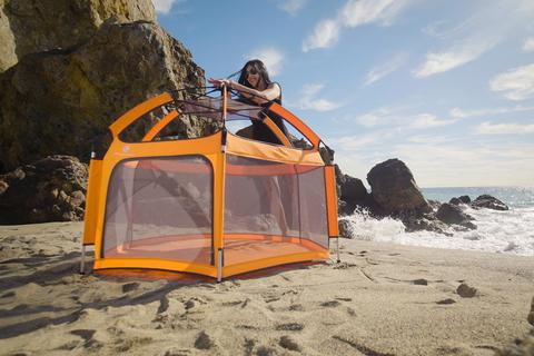 The Best Portable Playyard for the Beach
