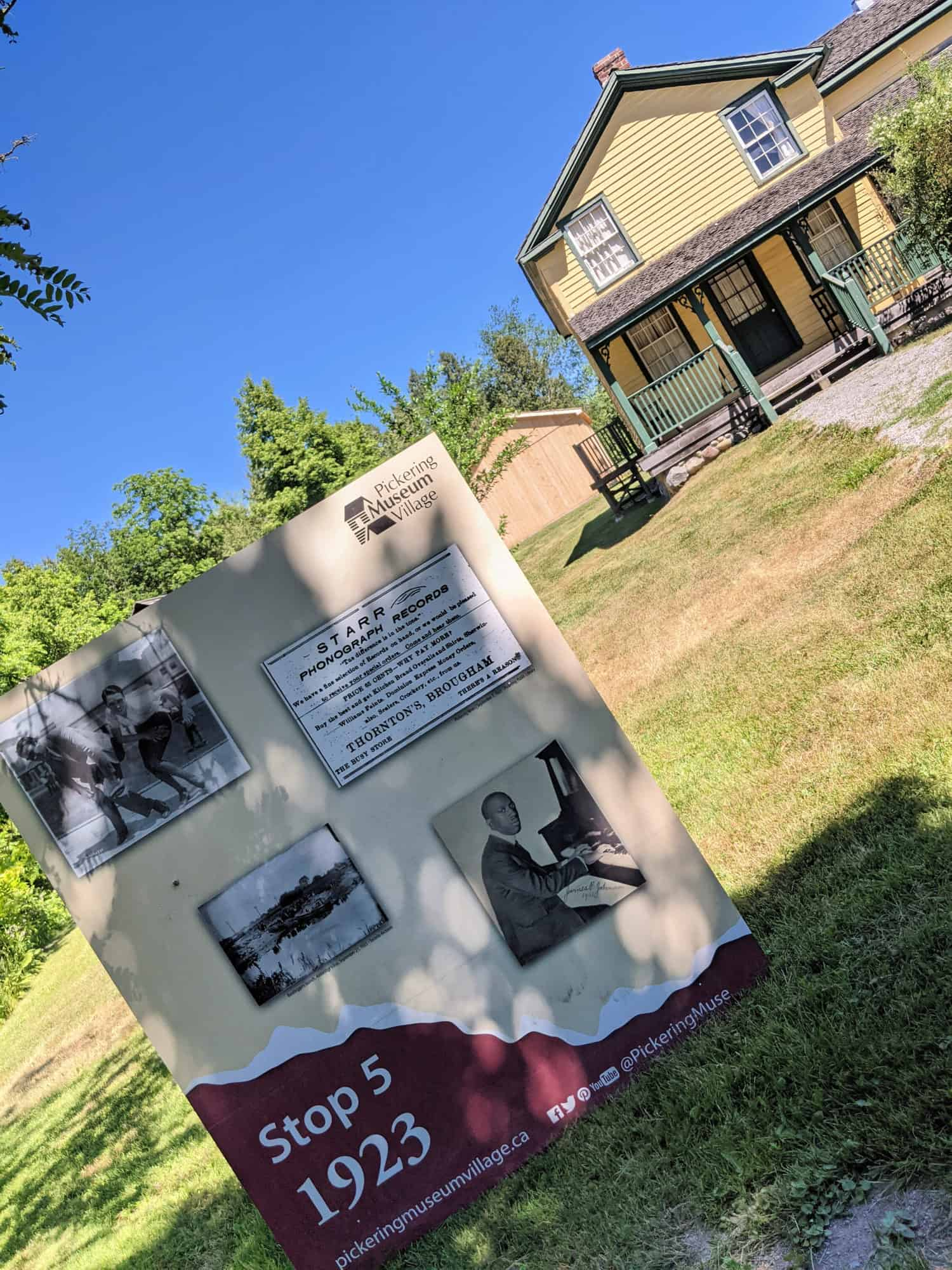 day trips from mississauga for families pickering museum village