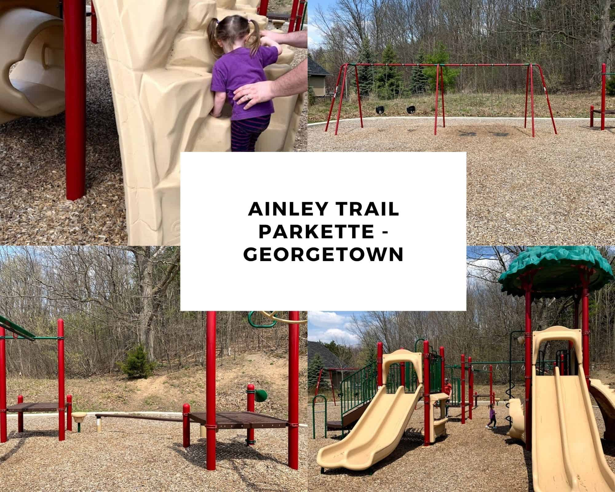 Parks in Halton: Ainley Trail Parkette