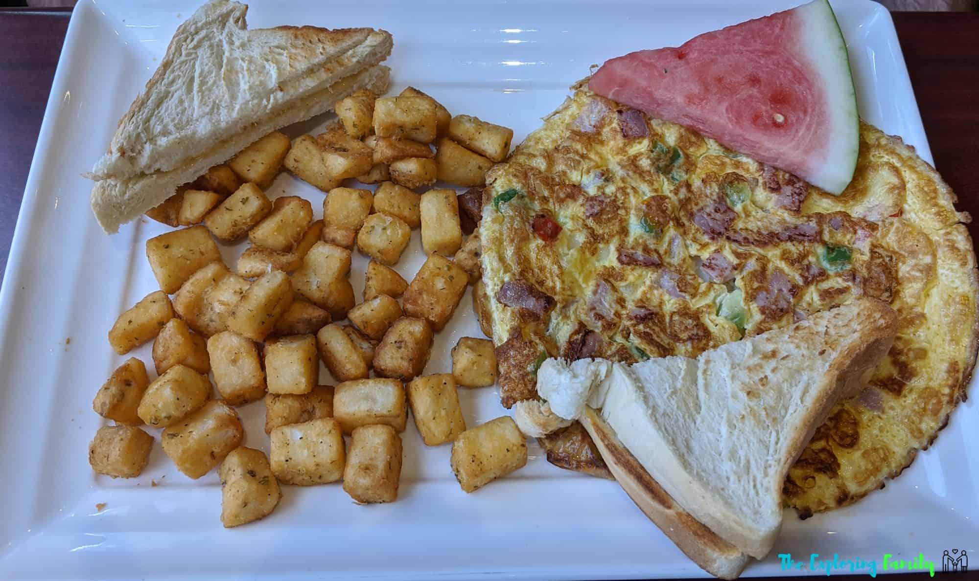 breakfast places brampton exolta omelette