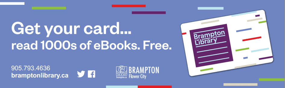 Brampton library card