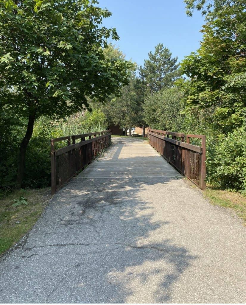 Stroller Friendly trails Mississauga
