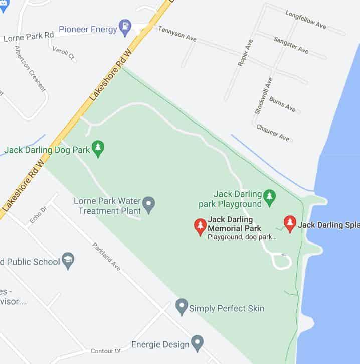 Jack Darling Park in Mississauga