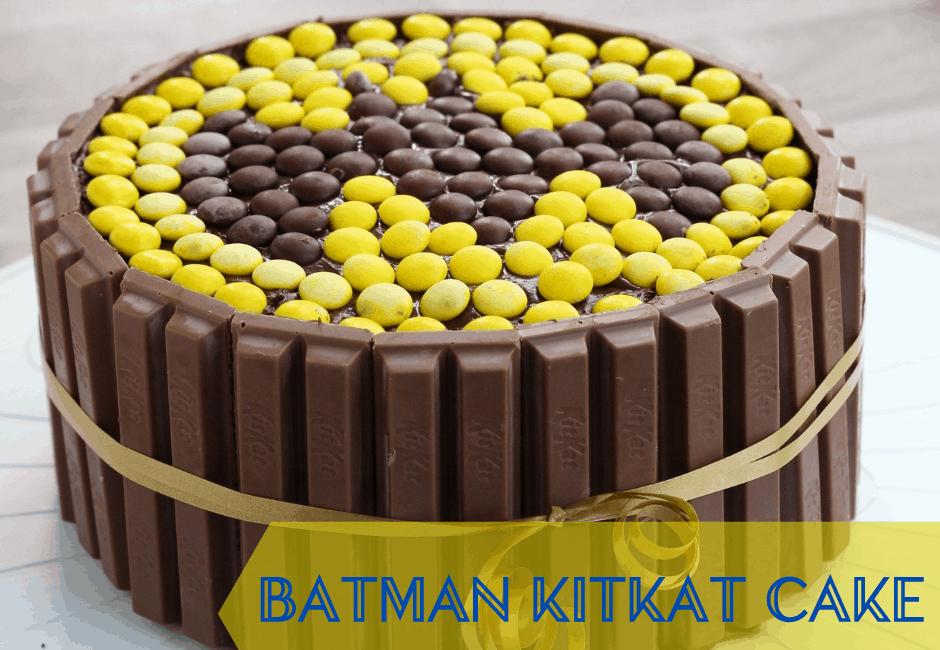 How to Make a Easy DIY Batman Cake