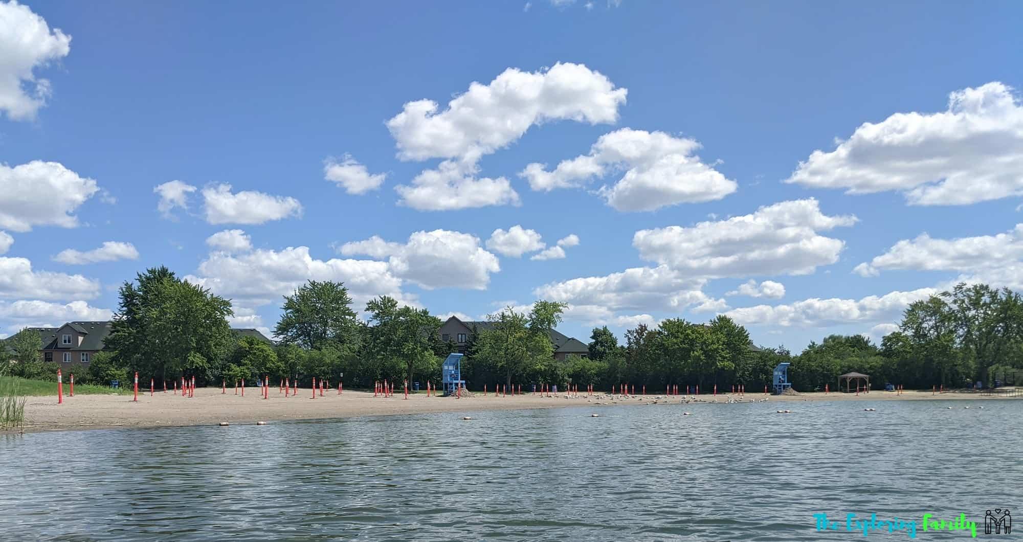 professor's lake brampton beach