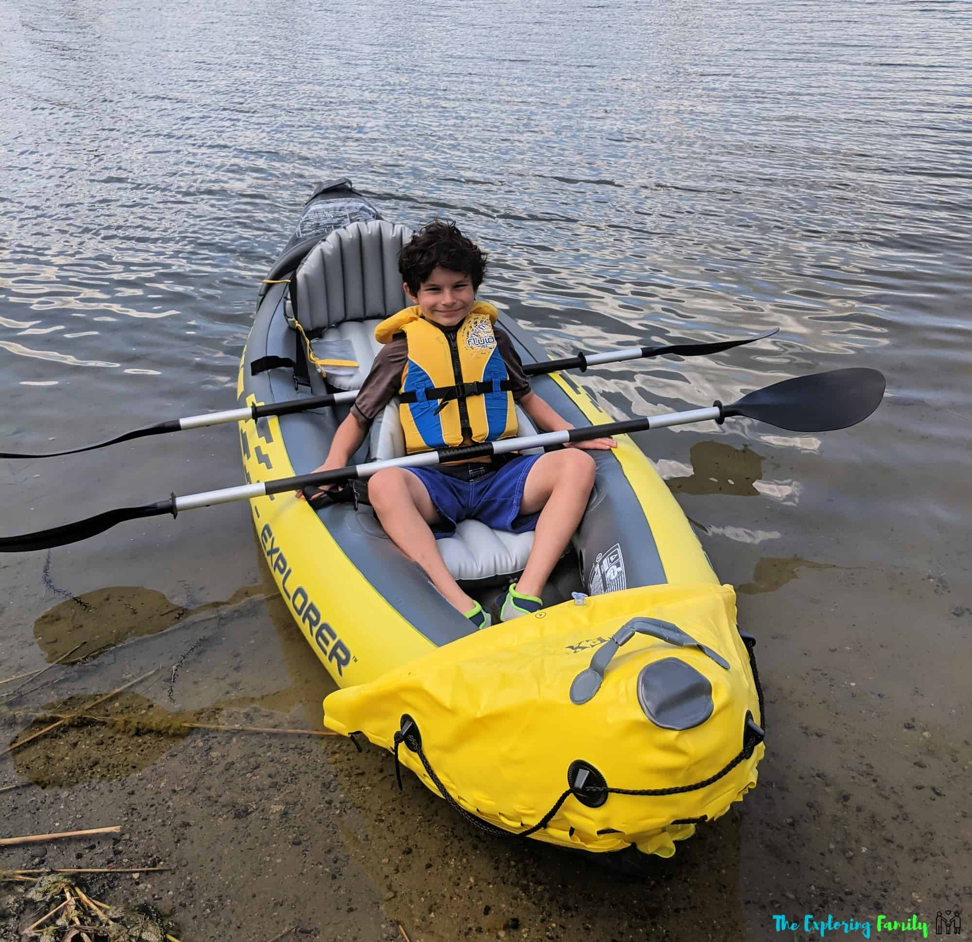 kayaking at professors lake brampton