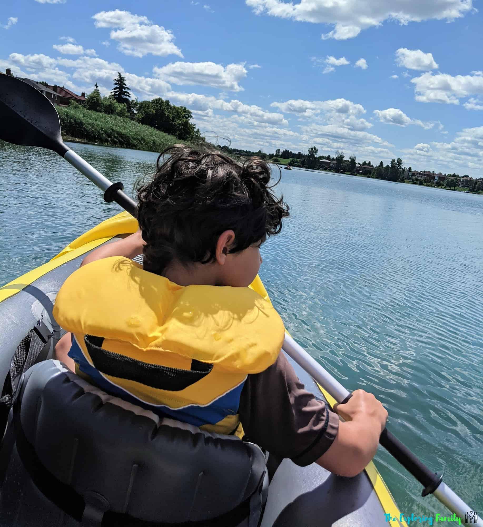 can you kayak at professors lake brampton
