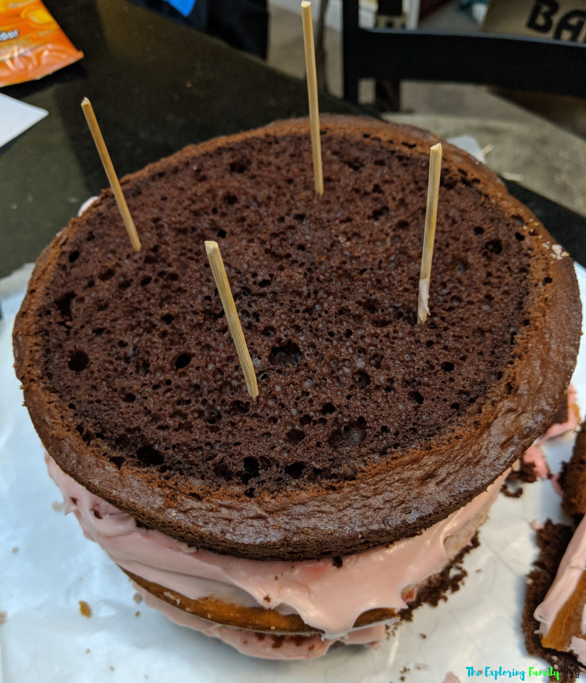 Chocolate DIY Unicorn Cake Recipe Instructions