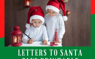 Write Letters to Santa – Important Deadlines you don't want to Miss plus a FREE Santa Letter Printable