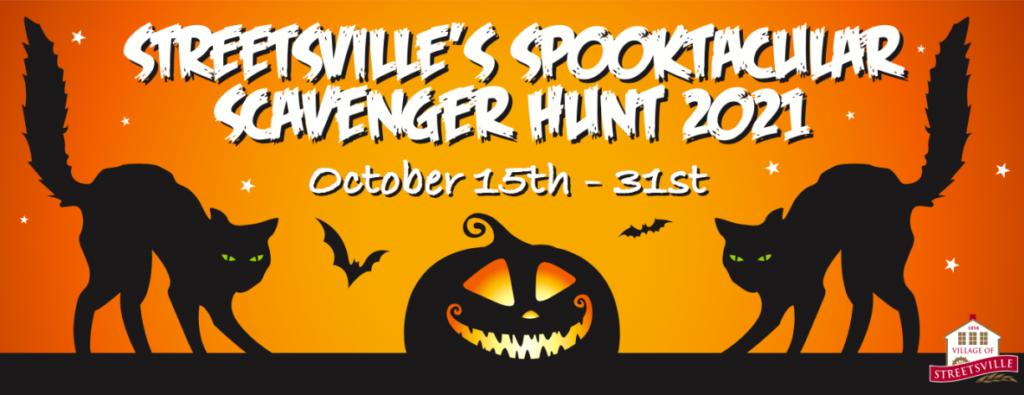 Scavenger Hunt in Halloween