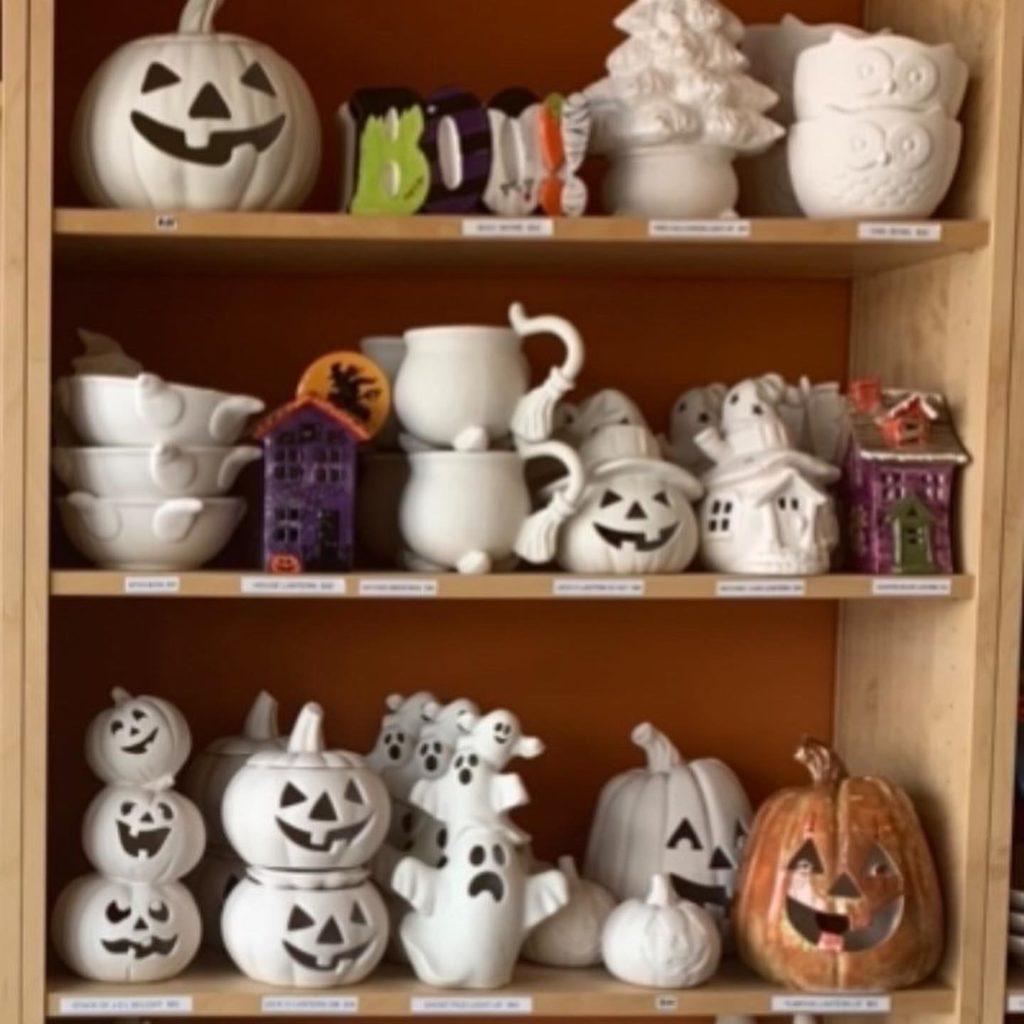 Halloween Pottery at Crock a Doodle Brampton