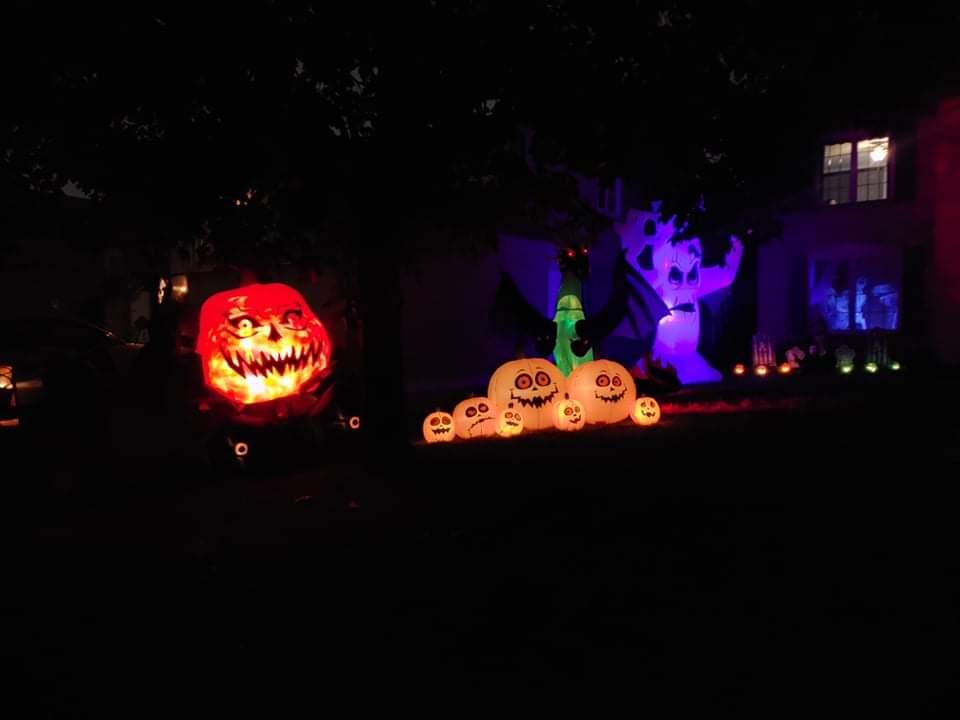 Halloween Houses in Brampton
