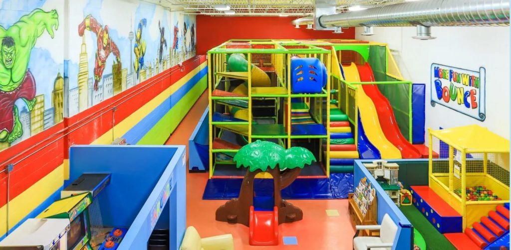 More Fun with Bounce Indoor Playground in Brampton